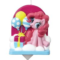 Wilton 2811-4700 My Little Pony Birthday Candle, Yellow