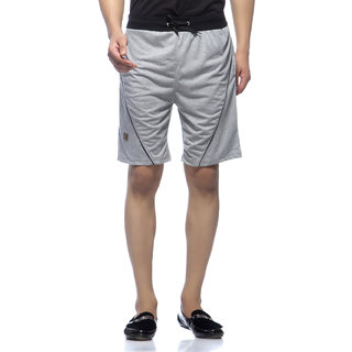 Demokrazy Men's Grey Shorts