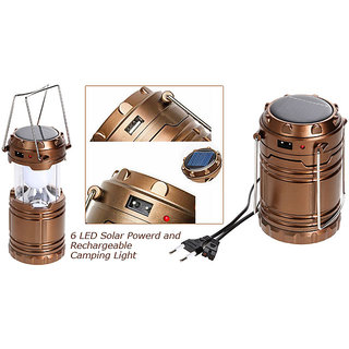Rechargeable Camping Lantern Light Lamp 8 LED G85