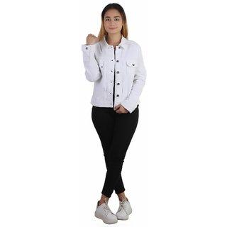KOTTY Denim jacket in white