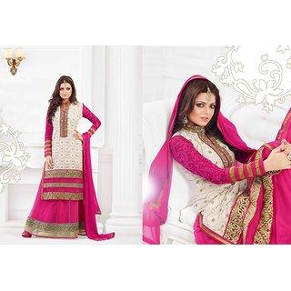 Designer Anarkali Semi Stitch Dress