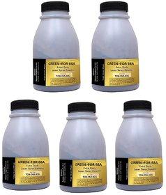 5 pcs toner powder for hp 12a/49a/53a toner cartridges