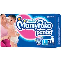 Mamy Poko Pants Pant Style Diapers Large - 36 Pieces