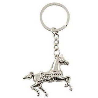 Lucky Running Horse Shaped Key Chain /Key Ring