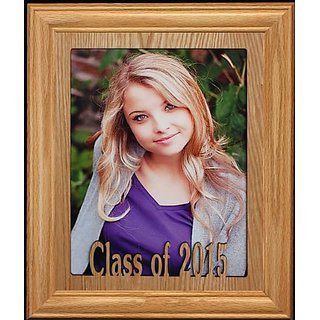 Buy 8x10 Class Of 2015 Picturephoto Frame Solid Oak School Senior