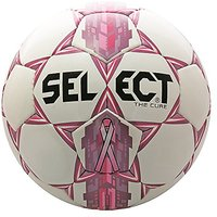Select Club Cure Soccer Ball, White/Pink, 5