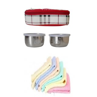 Combo Topware 2 container check with 6 hand towels
