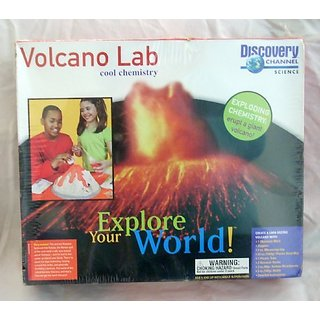 Discovery Channel Volcano Lab Cool Chemistry