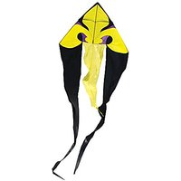 In The Breeze Fleur De' Lis Wave Delta Kite, 77-inch