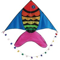 In The Breeze Rainbow Fish Kite, 60-Inch