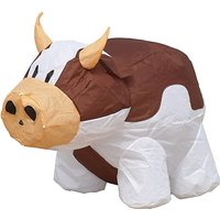 HQ Kites Bouncing Buddy Cow, Brown/White