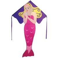 In The Breeze Mermaid Fly-Hi Delta Kite, 48-Inch