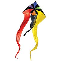 In The Breeze Rainbow Flux Wave Delta Kite, 52-Inch