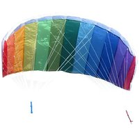 In The Breeze Rainbow 62 Inch Sport Kite - Dual Line St