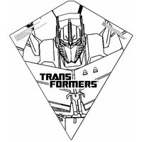 Color Me Kite 26-inches Tyvek Diamond Kite: Transformer