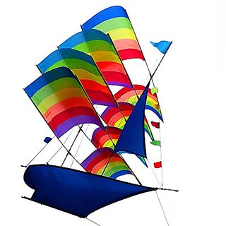 Tresbro 38 Inches Large Easy Flyer 3D Intelligence Sail
