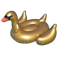 Swimline 90701Giant Golden Goose Ride-On Ride On