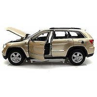 Jeep Grand Cherokee Laredo SUV, Gold - Maisto 34205 - 1/24 Scale Diecast Model Toy Car