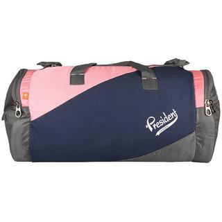 President DRUM Navy Pink Duffels  Air Bags