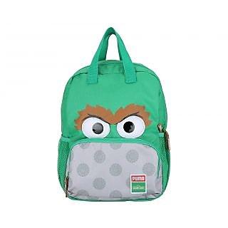 Puma Boy Sesame Street Green Polyester Backpack