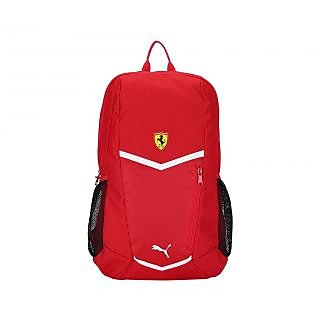 Buy Puma Men S Ferrari Fanwear Red Polyester Backpack Online ... 2ec0e1c677bd9