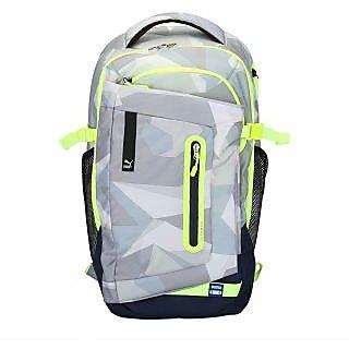 Puma Men'S Evo Blaze Grey Polyester Backpack