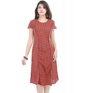 f67647ef2f Goodwill Impex Multicolor Printed Buttoned Women Dresses available at  ShopClues for Rs.399