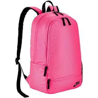 d6bba3a71e5a Buy Nike Men S Classic North Solid Pink Polyester Backpack Online - Get 17%  Off