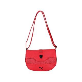 8b07383657 Buy Puma Women S Ferrari LS Small Satchel Red Polyester Sling Bag ...
