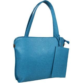83bc2c7064c0 Irene Sky Blue PU Shoulder Bag