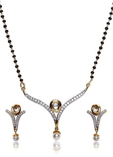 Mangalsutra With Earring