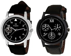 X5 FUSION MEN'S WATCH COMBO SMALL TRIANGLE AND 12 4 BK CASE
