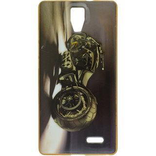 on sale a6fac 02433 eloMo Printed Back Cover Case for Micromax Canvas 5 Lite Q463