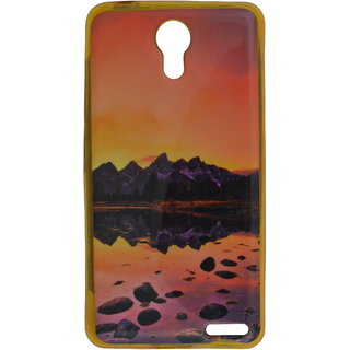 best service 8c163 6b0e2 eloMo Printed Back Cover Case for Micromax Vdeo 1 Q4001