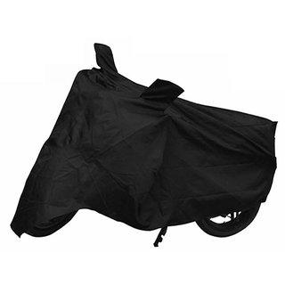 VMASHOPPERS Bike Body Cover BLACK For Suzuki HEAT