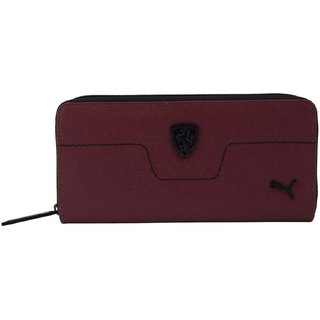 Puma New Maroon LS Clutch Wallet For Women's