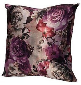 Floral Cushion Cover 16X16 inches