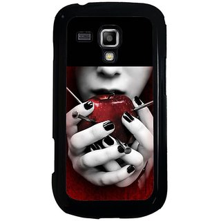 Fuson Designer Phone Back Case Cover  Galaxy S Duos 2 (  With The Nails )