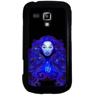Fuson Designer Phone Back Case Cover Samsung Galaxy S Duos 2 ( A Scary Face To Witness )