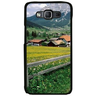 Fuson Designer Phone Back Case Cover Samsung Galaxy On5 Pro ( Scenic View Of European Hills )