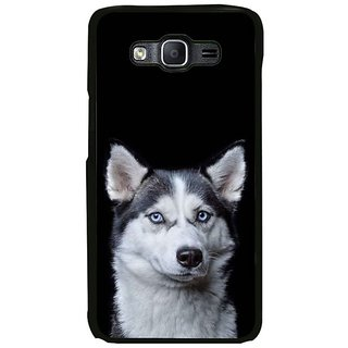 Fuson Designer Phone Back Case Cover Samsung Galaxy On7 ( Dog That Stares )