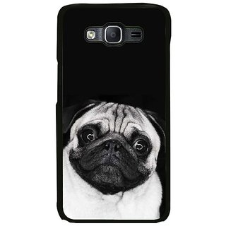 Fuson Designer Phone Back Case Cover Samsung Galaxy On7 Pro ( Pug In Black )
