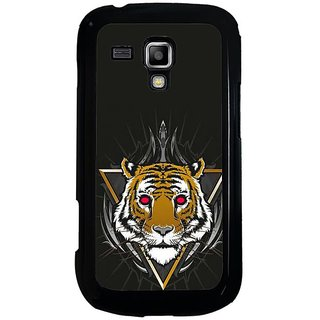 Fuson Designer Phone Back Case Cover Samsung Galaxy S Duos 2 ( Head Of The Tiger )