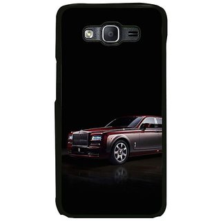 Fuson Designer Phone Back Case Cover Samsung Galaxy On7 ( The Car With A Class )