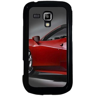 Fuson Designer Phone Back Case Cover Samsung Galaxy S Duos 2 ( Side Of The Car )