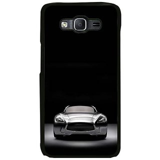 Fuson Designer Phone Back Case Cover Samsung Galaxy On5 Pro ( Front View Of The Car )