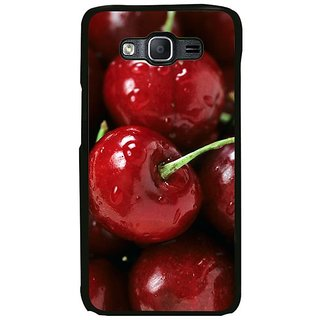 Fuson Designer Phone Back Case Cover Samsung Galaxy On7 Pro ( Freshly Picked Red Cherries )