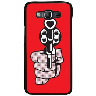 Fuson Designer Phone Back Case Cover Samsung Galaxy On5 Pro ( Shooting Out Love From Guns )