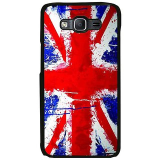 Fuson Designer Phone Back Case Cover Samsung Galaxy On7 ( The Bright Coloured Flag )