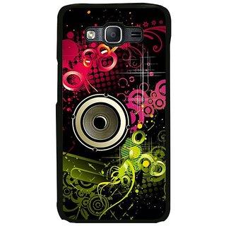 Fuson Designer Phone Back Case Cover Samsung Galaxy On5 Pro ( Funky Bass Speaker Illustration )